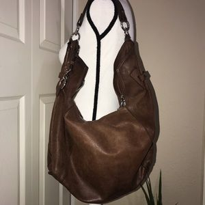 Sundance made in Italy brown leather bag